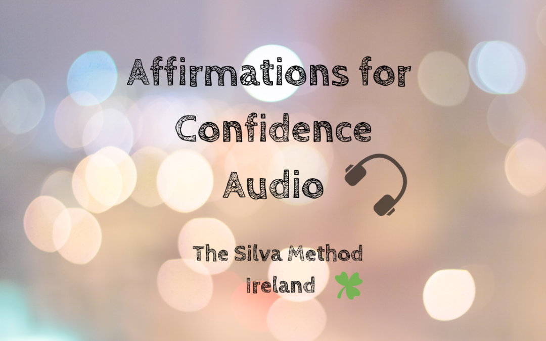 Affirmations for confidence – Audio