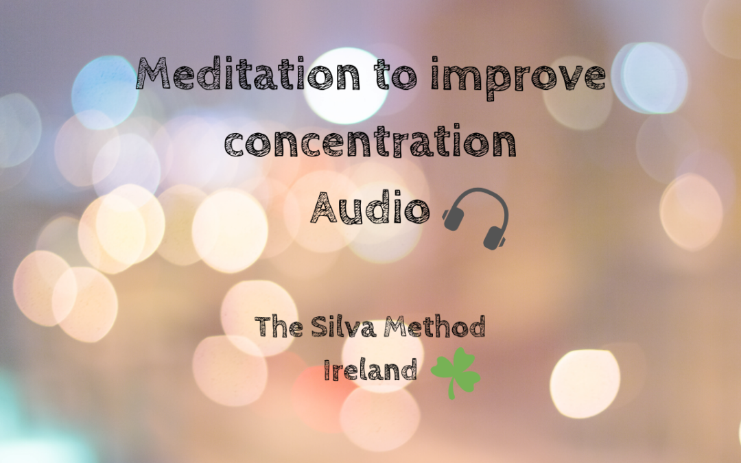 Meditation to improve concentration
