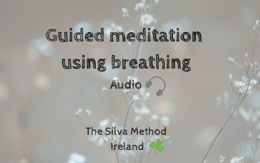 Guided meditation with breathing